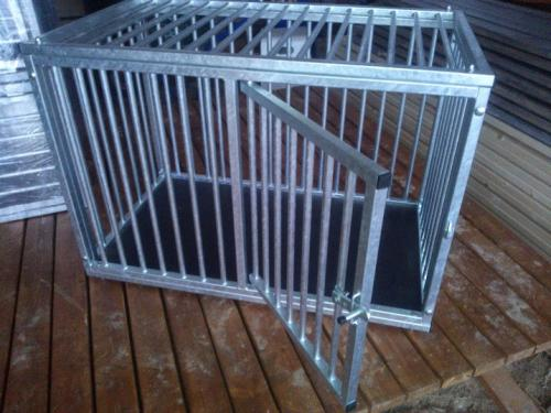 Cage for a dog at home