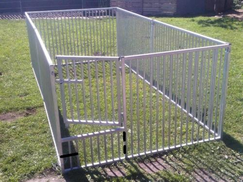 Fence for puppies